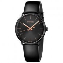 """Stilingas juodos spalvos """"CALVIN KLEIN"""" laikrodis vyrams"""