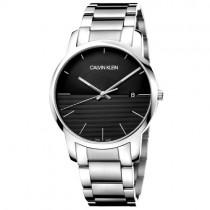 """""""CALVIN KLEIN"""" laikrodis su sidabrinės spalvos apyranke vyrams"""