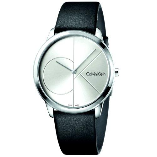 """""""CALVIN KLEIN"""" laikrodis vyrams su """"ck"""" ženklu ciferblate"""