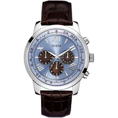 """Vyriškas """"GUESS"""" laikrodis su žydru ciferblatu"""