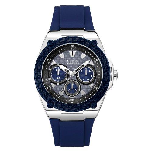"""""""GUESS"""" laikrodis su silikoniiu dirželiu vyrams"""