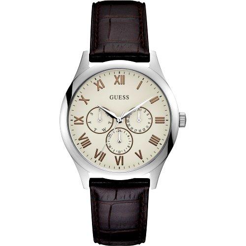 """Vyriškas """"GUESS"""" laikrodis su šviesiu ciferblatu"""
