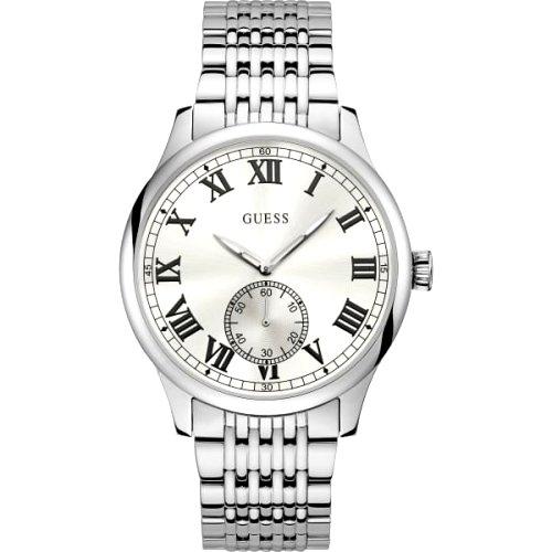 """Plieninis """"GUESS"""" laikrodis vyrui su chronometru"""