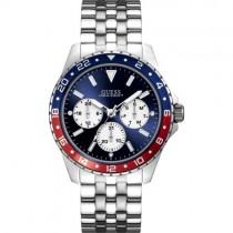 """Vyriškas """"GUESS"""" laikrodis su plienine sidabro spalvos apyranke"""