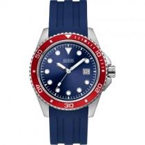 """Vyriškas """"GUESS"""" laikrodis su raudonu apvadu"""