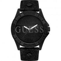 """Masyvus vyriškas """"GUESS"""" laikrodis su medžiaginiu dekoru"""