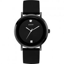 """Minimalistinio dizaino juodas """"GUESS"""" laikrodis vyrui"""
