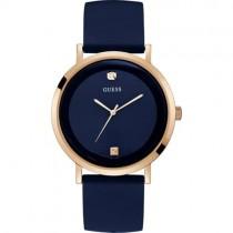 """Subtilaus dizaino vyriškas """"GUESS"""" mėlynas laikrodis"""