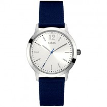 """Elegantiškas """"GUESS"""" laikrodis vyrams su medžiaginiu dirželiu"""