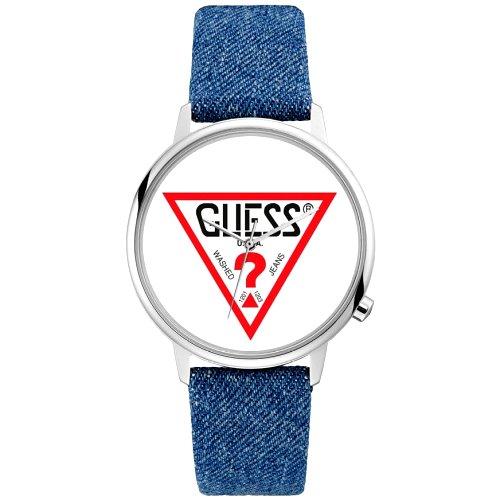 """Jaunatviškas """"GUESS"""" laikrodis vyrams su džinsine apyranke"""
