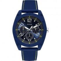 """Mėlynas """"GUESS"""" vyriškas laikrodis su padidinto atsparumo stikliuku"""