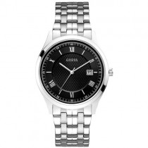 """""""GUESS"""" sidabrinės spalvos laikrodis vyrams"""