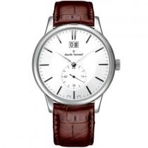 """Vyriškas """"CLAUDE BERNARD"""" laikrodis su rudu dirželiu"""