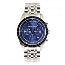 """Vyriškas """"EMPORIO ARMANI"""" laikrodis su mėlynu ciferblatu"""