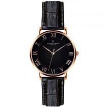 """Vyriškas """"FREDERIC GRAFF"""" laikrodis su juodu odiniu dirželiu"""