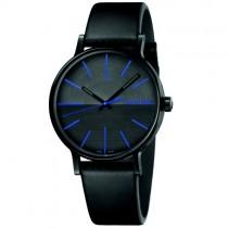 """Vyriškas """"CALVIN KLEIN"""" laikrodis su mėlynomis rodyklėmis"""