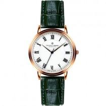 """Stilingas """"FREDERIC GRAFF"""" laikrodis vyrui su žaliu dirželiu"""