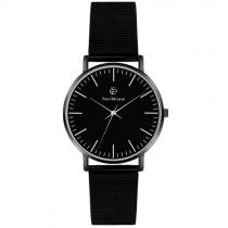 """Vyriškas """"PAUL MCNEAL"""" laikrodis su juodu dirželiu"""