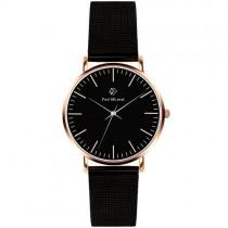 """Vyriškas """"PAUL MCNEAL"""" laikrodis su juodu ciferblatu"""