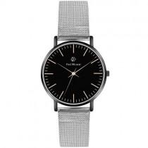 """Vyriškas """"PAUL MCNEAL"""" laikrodis su sidabriniu dirželiu"""