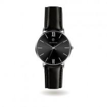 """""""PAUL MCNEAL"""" laikrodis su juodos spalvos dirželiu vyrui"""