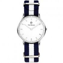 """Vyriškas """"PAUL MCNEAL"""" laikrodis su baltu ciferblatu"""
