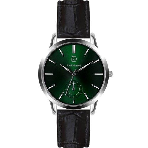 """Vyriškas """"PAUL MCNEAL"""" laikrodis su tamsiai žaliu ciferblatu"""