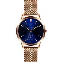"""Vyriškas """"PAUL MCNEAL"""" laikrodis su aukso spalvos nerūdijančio plieno dirželiu"""