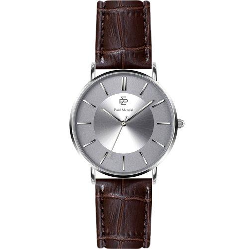 """Vyriškas """"PAUL MCNEAL"""" laikrodis su sidabro spalvos ciferblatu"""