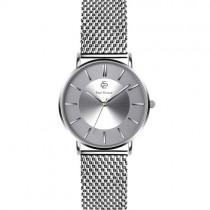 """Vyriškas """"PAUL MCNEAL"""" laikrodis su sidabro spalvos nerūdijančio plieno dirželiu"""