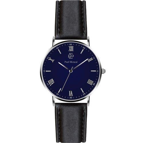"""Vyriškas """"PAUL MCNEAL"""" laikrodis su tamsiai mėlynu ciferblatu"""