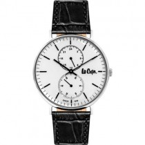 "Vyriškas ""LEE COOPER"" laikrodis su baltu ciferblatu"