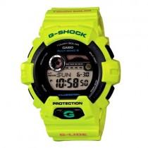 """Vyriškas """"CASIO"""" laikrodis su šviesiai žaliu plastikiniu dirželiu"""