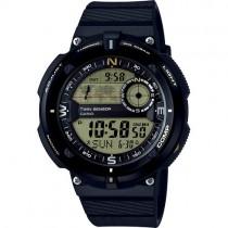 """Vyriškas """"CASIO"""" laikrodis su juodu plastikiniu dirželiu"""