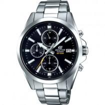 """Vyriškas """"CASIO"""" laikrodis su sidabro spalvos nerūdijančio plieno dirželiu"""