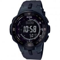 """Vyriškas elektroninis """"CASIO"""" laikrodis su juodu plastikiniu dirželiu"""