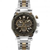"""Vyriškas """"GC"""" laikrodis su juodu ciferblatu"""
