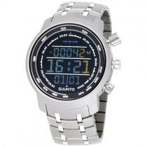 """Vyriškas """"SUUNTO"""" laikrodis su sidabro spalvos nerūdijančio plieno dirželiu"""
