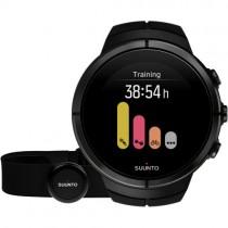 """Sportinis vyriškas """"SUUNTO"""" laikrodis su juodu silikoniniu dirželiu"""