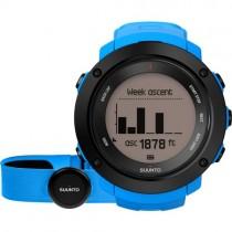 """Išmanusis vyriškas """"SUUNTO"""" laikrodis su mėlynu silikoniniu dirželiu"""