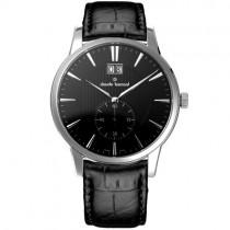 """Vyriškas """"CLAUDE BERNARD"""" laikrodis su juodu odiniu dirželiu"""