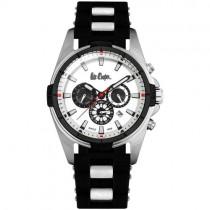 "Vyriškas ""LEE COOPER"" laikrodis su juodu ciferblatu"