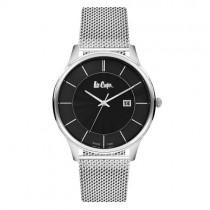 """Vyriškas """"LEE COOPER"""" laikrodis su sidabro spalvos nerūdijančio plieno dirželiu"""