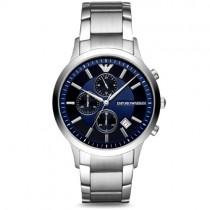 """Vyriškas """"EMPORIO ARMANI"""" laikrodis su tamsiai mėlynu ciferblatu"""