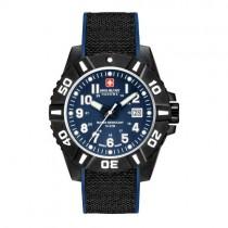 """Vyriškas laikrodis """"SWISS MILITARY"""" su mėlynu ciferblatu"""
