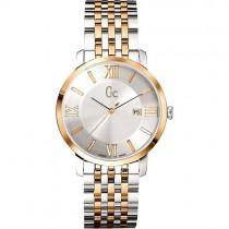 """Vyriškas laikrodis """"GC"""" su sidabriniu ciferblatu"""