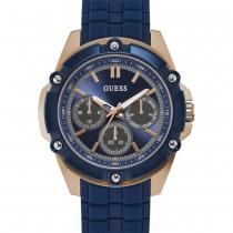 """Vyriškas mėlynos spalvos """"GUESS"""" laikrodis"""