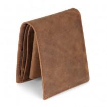 Šviesiai ruda odinė vyriška piniginė