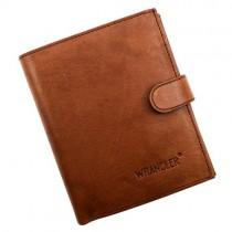 """Šviesiai rudos spalvos """"Wrangler"""" piniginė vyrams su RFID dėklu"""