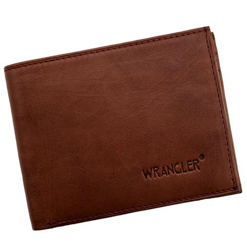 """Natūralios odos """"Wrangler"""" piniginė vyrui"""